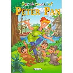 Hai sa coloram Peter Pan