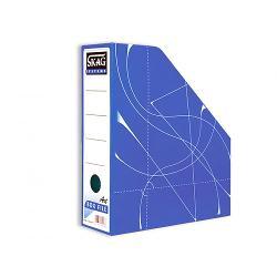 Suport vertical documente Skag, albastru SK216418/224147 imagine librarie clb
