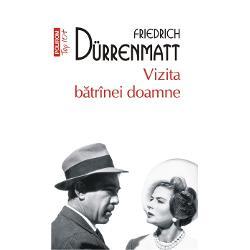 Vizita batrinei doamnea inspirat in 1964 o celebra ecranizare in regia lui Bernhard Wicki cu Ingrid Bergman si Anthony Quinn in rolurile principaleInfernul in lumea personajelor lui Durrenmatt sint intotdeauna ceilalti Infernul sint ceilalti unul cite unul cel care minte cel care paraseste cel care cumpara dreptatea cel care loveste cu pumnii cel