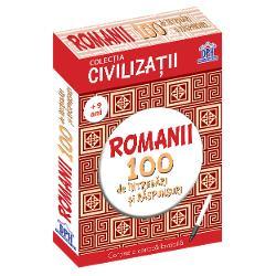 100 de întreb&259;ri &537;i r&259;spunsuri despre istoria &537;i cultura romanilor Con&539;ine o carioc&259; lavabil&259; pentru a r&259;spunde la întreb&259;ri &537;i a v&259; verifica la urm&259; Verifica&539;i &537;i cuno&537;tin&539;ele prietenilor Face parte din colec&539;ia Civiliza&539;ii   Specifica&539;ii