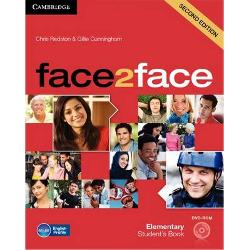 The course for busy teachers who want to get their students communicating with confidence face2face is the flexible easy-to-teach General English course that helps adults and young adults to speak and listen with confidence face2face is informed by Cambridge English Corpus and its vocabulary syllabus has been mapped to the English Vocabulary Profile meaning students learn the language they really need at each CEFR level The course improves students listening skills by drawing their