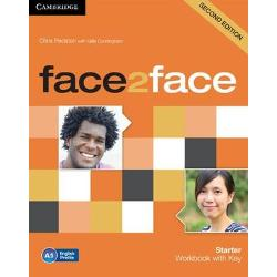face2face Second edition is the flexible easy-to-teach 6-level course A1 to C1 for busy teachers who want to get their adult and young adult learners to communicate with confidence face2face is informed by Cambridge English Corpus and the English Vocabulary Profile meaning students learn the language they really need at each CEFR level The Starter Workbook with Key is ideal for self-study offering additional consolidation activities and a Reading and Writing Portfolio for extra skills