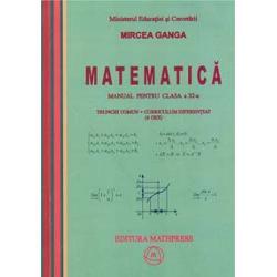 Ganga XI matematica TCCD 4 ore