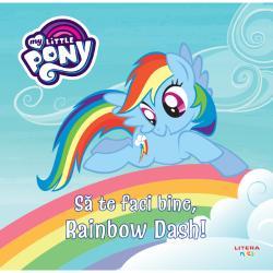 Rainbow Dash este cel mai rapid ponei din PonyvilleEa zboar&259; sus printre nori dornic&259; de noi aventuriAst&259;zi Rainbow Dash &238;i face o vizit&259; doctorului Horse
