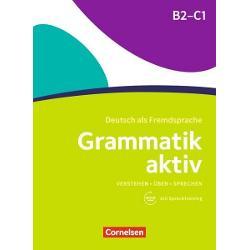 Die Übungsgrammatik richtet sich an fortgeschrittene Lernende die die deutsche Grammatik von Niveau B2-C1 wiederholen und vertiefen möchten Sie eignet sich für den Einsatz im Unterricht oder zum Selbstlernen