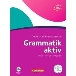 Die Übungsgrammatik richtet sich an Lernende die die deutsche Grammatik von Niveau A1 bis B1 üben und wiederholen möchten Sie eignet sich für den Einsatz im Unterricht oder zum Selbstlernen Die Audios sind über die Cornelsen PagePlayer-App oder einen Webcode verfügbar