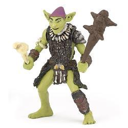 Jucaria figurina Goblin reprezinta un personaj imaginar o creatur&259; rea care produce numai incurcaturi Figurina Goblin are membrele articulate ceea ce aduce un plus de atractivitate joculuiDimensiune7 x 9 x 4 cmVarsta 3 ani