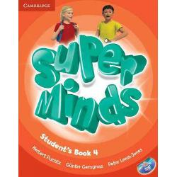 Super Minds 4 Student's Book with DVD-ROM imagine librarie clb