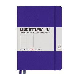 LT346687 Notes A5 Coperta Rigida Violet-Int Punctat