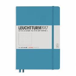 LT354586 Notes A5 Coperta Rigida Albastru Nordic-Int Punctat