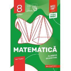 Avizat MEC conform OM nr 531821112019Cea mai popular&259; &351;i mai longeviv&259; colec&355;ie de matematic&259; din Rom&226;nia&160;MATE 2000 a Editurii Paralela 45 reprezint&259; de mai bine de dou&259; decenii&160;suportul num&259;rul 1 de &238;nv&259;&355;are a matematicii pentru majoritatea elevilor din &238;nv&259;&355;&259;m&226;ntul preuniversitar at&226;t prin activit&259;&355;ile matematice de