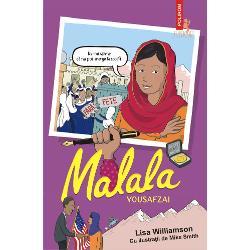 Vîrsta recomandat&259; 8Cu ilustra&355;ii de Mike SmithTraducere din limba englez&259; de Andreea Ni&539;&259;Nu-mi spune c&259; nu pot merge la &537;coal&259;Face&539;i cuno&537;tin&539;&259; cu Malala Yousafzai curajoasa &537;i minunata activist&259; care a supravie&539;uit dup&259; ce a fost împu&537;cat&259; în cap la 15 ani &537;i a continuat s&259; lupte ca s&259; fac&259; educa&539;ia