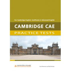 Cambridge CAE Practice Testshas been designed to familiarise students with the exact format of the examination as well as to expand their vocabulary and to improve the skills required to pass the examinationCambridge CAE Practice Testscontains• six complete practice tests• a full introduction to the examination• exam technique sections advising students on how to approach