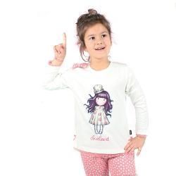 Pijama copii Gorjuss Love HeartFii si tu gorjuss cu un produs inspirat de personajele colectiei cu acelasi nume si adu emotia si frumosul in viata ta si a persoanelor iubiteConceputa special pentru tinerele domnisoare pijamaua dama Gorjuss Love Heart este alegerea perfecta pentru confortul propriu Realizata din material de bumbac in procent de 89 cu un design unic si delicat este o piesa importanta din garderoba proprie• Marca Santoro