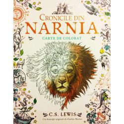 O carte de colorat în care ve&539;i reg&259;si magia Narniei cu ilustra&539;ii &537;i desene originale inspirate de toate cele &537;apte pove&537;ti ale serieiCronicile din NarniaDeschide dulapul fermecat &537;i intr&259; în fantastica lume a Narniei t&259;râmul m&259;re&539; al centaurilor al faunilor &537;i al lui Aslan Marele Leu Fii