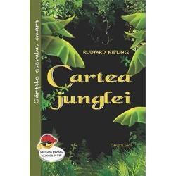 Cartea junglei-Rudyard KiplingPeste tot in lume Cartile Junglei Cartea junglei si A doua carte a junglei sunt foarte citite si admirate Un simt al imaginatiei iesit din comun l-a inspirat pe creatorul acestor povestiri mitologice cu animale in mijlocul carora Mowgli devine puternic Bagheera – pantera neagra ursul Baloo siretul piton de stanca Kaa Nag – cobra alba si galagioasele si caraghioasele maimute