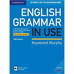 Raymond Murphys English Grammar in Use is the first choice for intermediate B1-B2 learners and covers all the grammar you will need at this level This book has clear explanations and practice exercises that have helped millions of people around the world improve their English It also includes an interactive ebook with audio that you can use online or download to your iPad or Android tablet It is perfect for self-study and can also be used by teachers as a supplementary book in