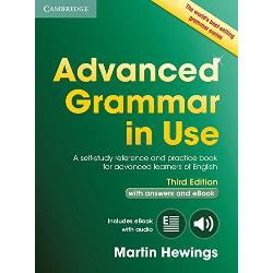 The worlds best-selling grammar series for learners of English This third edition with answers and interactive eBook contains 100 units of grammar reference and practice materials with illustrations in full colour and a user-friendly layout It is ideal for learners preparing for the Cambridge Advanced Proficiency or IELTS examinations and is informed by the Cambridge International Corpus which ensures the language is authentic and up-to-date The eBook has the same grammar