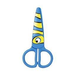 Foarfeca plastic presc KEYROAD KR971403 Kids Pro Peste albastru 1 bucblister