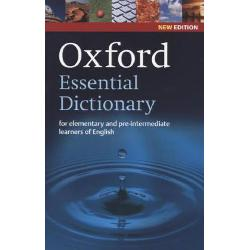 Updated with new words Oxford Essential Dictionary is a corpus-based dictionary of the essential vocabulary learners need at elementary to pre-intermediate levelOxford Essential Dictionary gives all the essential help and information elementary and pre-intermediate learners needUpdated with 200 NEW words Oxford Essential Dictionary includes over 24000 words phrases and meanings2000 of the most important words in English
