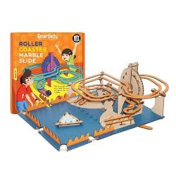 Circuit roller-coaster cu bilute de marmura SMRT1012