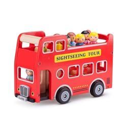 Autobuz turistic cu 9 figurine NC11970