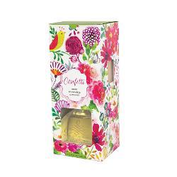 Pachetul contine 8 bete din lemn si un recipient din sticlaContinut ulei aromatVolum 230 mlAroma Crin ceai verde ambra si lalele