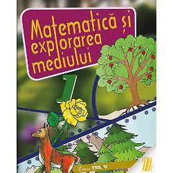 Matematica &351;i explorarea mediului este o lucrare destinat&259; înv&259;&355;&259;rii în sistem integrat a unei discipline exacte precum este matematica în combina&355;ie cu o disciplina frumoas&259; cum este explorarea mediului De la studierea numerelor pân&259; la 10 pân&259; la în&355;elegerea conexiunii dintre numerele scrise cu mai multe cifre de la probleme simple la cele ceva mai complexe de la cunoa&351;terea