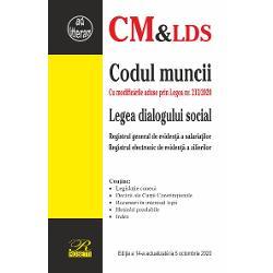 Codul muncii Legea dialogului social 5 octombrie 2020