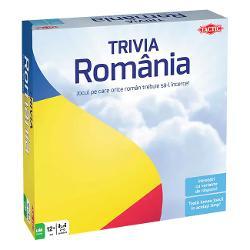 JOC DE SOCIETATE TACTIC COUNTRY TRIVIA ROMANIA 12 ANI 2 - 6 JUCATORIUn joc inedit despre tara noastra joc de cultura generala pentru intreaga familie si pentru toti prietenii Afla cat de bine iti cunosti tara invata lucruri noi si distreaza-teJocul contine400 de carti de joc cu 2400 de intrebari despre Romania acoperind 6 categorii istorie cultura stiinta geografie sport si diverseJoc