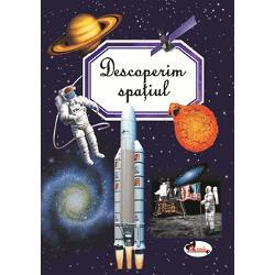 Spa&355;iul î&351;i dezv&259;luie secretele celor mai mici dintre cititori Copiii vor descoperi r&259;spunsuri la unele dintre cele mai arz&259;toare întreb&259;ri Cum s-au format planetele Ce sunt galaxiile &537;i constela&539;iile Care este rolul Lunii sau al Soarelui Când a avut loc prima c&259;l&259;torie a omului în spa&539;iu Toate aceste lucruri &537;i multe altele sunt înso&539;ite de ilustra&539;ii minunate pline de culoare