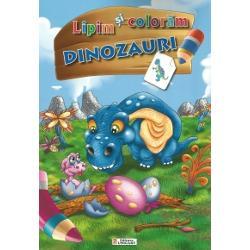 Lipim si coloram - Dinozauri