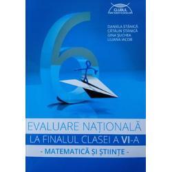 Prezenta lucrare este un auxiliar didactic care întrune&537;te toate condi&539;iile unui ghid de preg&259;tire a examenului de Evaluare Na&539;ional&259; la finalul clasei a VI-a pentru aria curricular&259; Matematic&259; &537;i &536;tiin&539;e ale naturii - respect&259; programa &537;colar&259; în vigoare; - include subiecte date în anii &537;colari anteriori &537;i variante propuse pentru Evaluarea Na&539;ional&259; 2016; -
