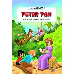 Cartea Peter Pan – de J M Barrie ilustrata de Serban Andreescu este destinata copiilor de orice varstaAici gasesti resursele de care ai nevoie pentru a-l ajuta pe copil sa-si dezvolte memoria si imaginatia