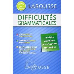 LAROUSSE Livres de bord - Difficultés Grammaticales