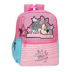 Ghiozdan scoala 32 cm Minnie Pink Vibes 25122.61