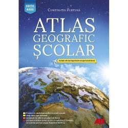 Atlasul geografic &537;colar al lumiirealizat de Constantin Furtun&259; se remarc&259; drept singurul atlas de acest tip din România Edi&539;ia actual&259; este revizuit&259; &537;i ad&259;ugit&259; cu informa&539;ii esen&539;iale disponibile în 2020Con&539;inutul a fost creat în acord cu programa &537;colar&259; &537;i se adreseaz&259; cadrelor didactice de specialitate elevilor &537;i studen&355;ilor Mai mult