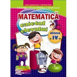 Caiet de matematica clasa a IV a PitilaMihailescu