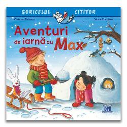 """""""Aventuri de iarn&259; cu Max"""" face parte din seria """"&536;oricelul cititor"""" – pove&537;ti care explic&259; lumea din jurul nostru Se adreseaz&259; tuturor copiilor cu vârsta peste 3 ani In sfâr&537;it a nins iar Max este foarte fericit Acum el î&537;i poate încerca în cele din urm&259; noua s&259;niu&539;&259; poate avea o lupt&259; cu bulg&259;ri de"""