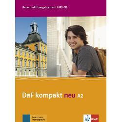 DaF kompakt neuführt Lernende von A1 bis B1Das Anfängerlehrwerk für Studierende und Berufseinsteiger die schnell mit Deutsch durchstarten möchtenIdeal für Intensivkurse an Goethe-Instituten und UniversitätenErscheint als einbändige und als dreibändige Ausgabe