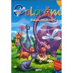 Distreaza-te colorand frumoasele desene ale acestei carti si impodopeste-i paginile cu abtibilduri potrivite