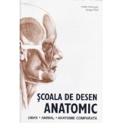 Cu peste 1200 de ilustra&355;ii detaliate realizate de Andras Szunyoghy un maestru în domeniul s&259;u &350;coala de Desen Anatomic prezint&259; o perspectiv&259; vast&259; în compozi&355;ia corporal&259; a oamenilor &351;i a mamiferelor  Studii meticuloase ale scheletului si ale mu&351;chilor încurajeaz&259; o mai bun&259; în&355;elegere a modului în care aceast&259;