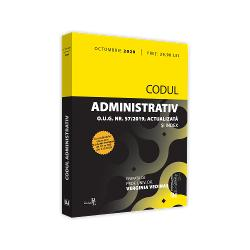"""Codul administrativ cuprinde 10 p&259;r&355;i 638 de articole &351;i 6 anexe Este în opinia noastr&259; o structur&259; acoperitoare pentru toate marile domenii ale dreptului administrativConstat&259;m c&259; nu este vorba cum încearc&259; s&259; induc&259; ideea unii """"cârcota&351;i"""" de o simpl&259; al&259;turare de reglement&259;ri existente ci despre un proces care sub aspectul fondului dar &351;i al formei este"""