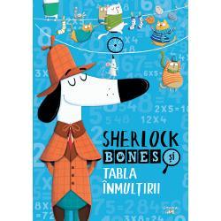 Al&259;tur&259;-te echipei lui Sherlock Bones &537;i doctorului Catson în formidabila aventur&259; a TABLEI ÎNMUL&538;IRIICu ajutorul cuno&537;tin&539;elor tale de matematic&259; vei dejuca planurile malefice ale profesorului Moriratty &537;i vei parcurge tot felul de trasee încurcate rezolvând exerci&539;ii cu înmul&539;iri