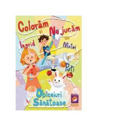 Carte de colorat si activitatiFormat A4 hartie 80gm2