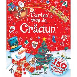 O carte pentru un Craciun unic Cu o multime de activitati si peste 150 de abtibilduri vei avea sigur ce face in fiecare zi a vacantei de Craciun