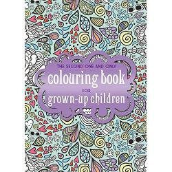 The Second One and Only Colouring Book for Grown-Up Children Do you remember when you were much younger and spending hours colouring in was so much fun Well the good news is that now you dont have to grow out of colouring books Following on from the huge success of the first One and Only Colouring Book for Grown-Up Children here are over 100 new designs featuring animals flowers butterflies and abstract images - all waiting for you to add your own unique twist - hours of