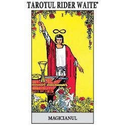 Tarotul Rider Waite®Bazat pe edi&355;ia original&259; singura autorizat&259; a faimosului pachet cu 78 de c&259;r&355;i de Tarot Rider-Waite®Ilustra&355;ii originale de Pamela Colman Smith® sub supervizarea lui Arthur Edward WaiteInstruc&355;iuni preluate din cartea Cheia Tarotului de Arthur Edward WaiteIntroducereDe Stuart R KaplanDr Arthur Edward Waite 1857-1942 a fost un adept autentic al