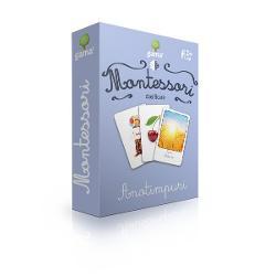 Anotimpuri Carti de joc educative Montessori Seria 3