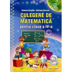 Culegere de matematica clasa a IV a Grujdin-Borcan
